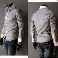 426b3397e4559 Chemise homme pas cher manches longues Clothes Discount - Clothes ...