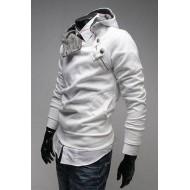 Sweat Homme Discount - Blanc Tendance Zippé