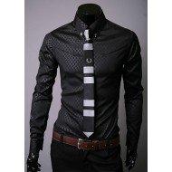 Chemise Homme Discount - Elégante Noire