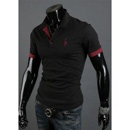 Tee-Shirt Casual Coupe Slim Différents Coloris